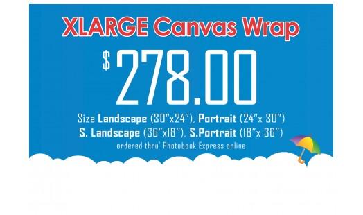 0623-278 Gallery Canvas Wrap (XL)