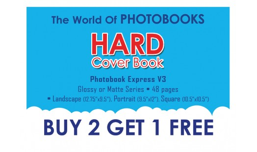 0623-188 Hard Cover Photobook 2+1
