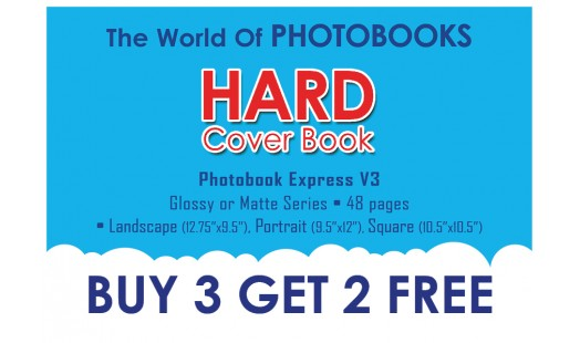 0623-188 Hard Cover Photobook 3+2