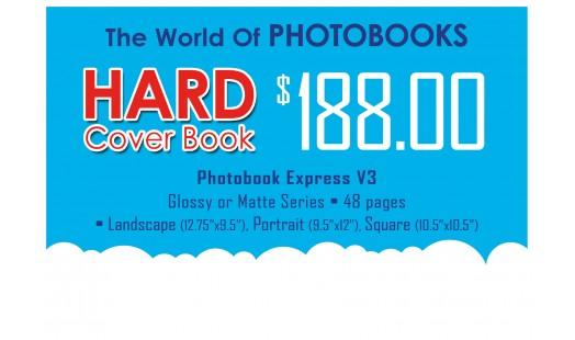 0623-188 Hard Cover Photobook
