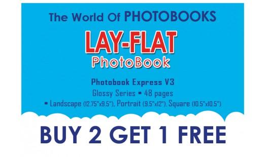 0623-238 Layflat Hard Cover Photobook 2+1