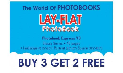 0623-238 Layflat Hard Cover Photobook 3+2