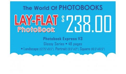 0623-238 Layflat Hard Cover Photobook