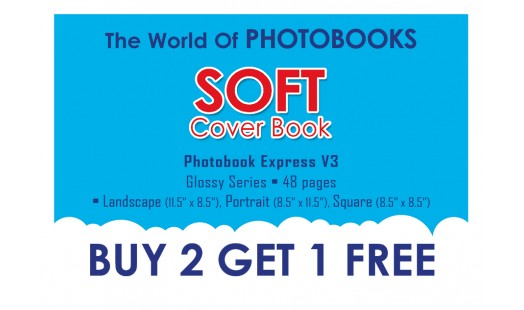 0623-98 Soft Cover Photobook 2+1