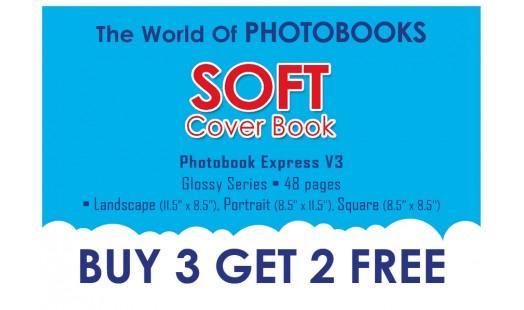 0623-98 Soft Cover Photobook 3+2